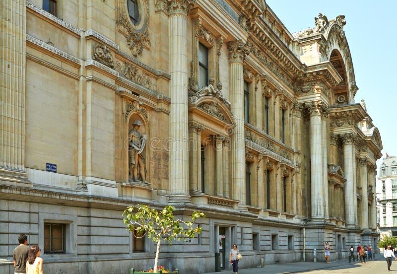 Bruselas Bélgica 25 de julio de 2018 En el centro fotografía de archivo libre de regalías