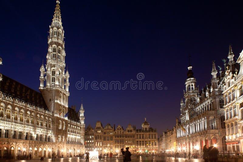 Bruselas, Grand Place fotografía de archivo