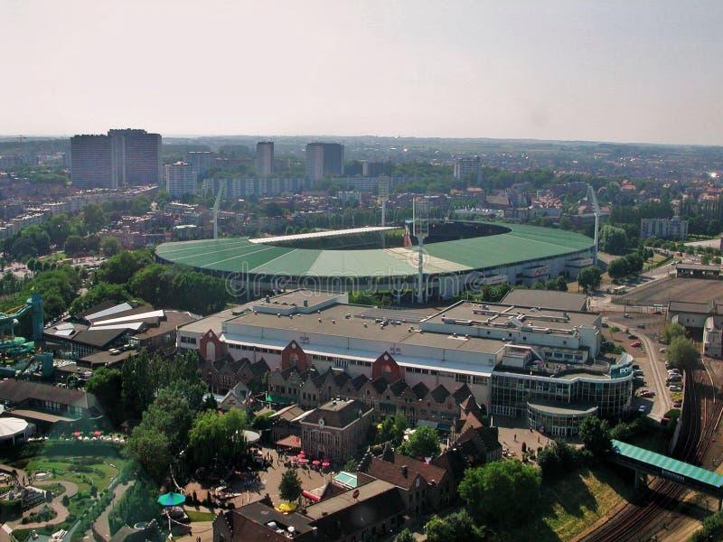Bruselas - rey Baudouin Stadium imagen de archivo
