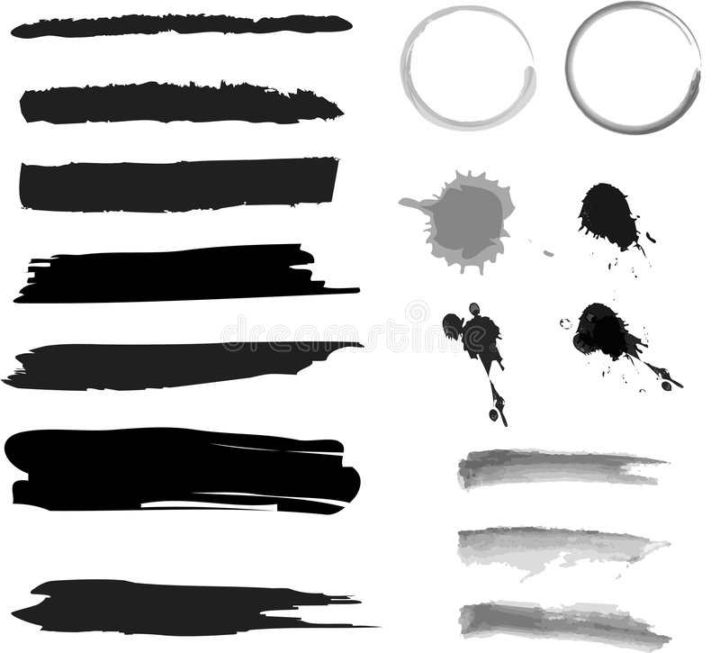 Brush vector illustration