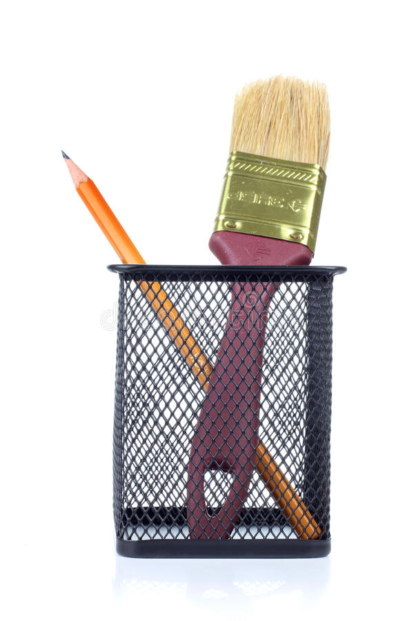 Download Brush in basket stock image. Image of accessories, colorful - 22463529