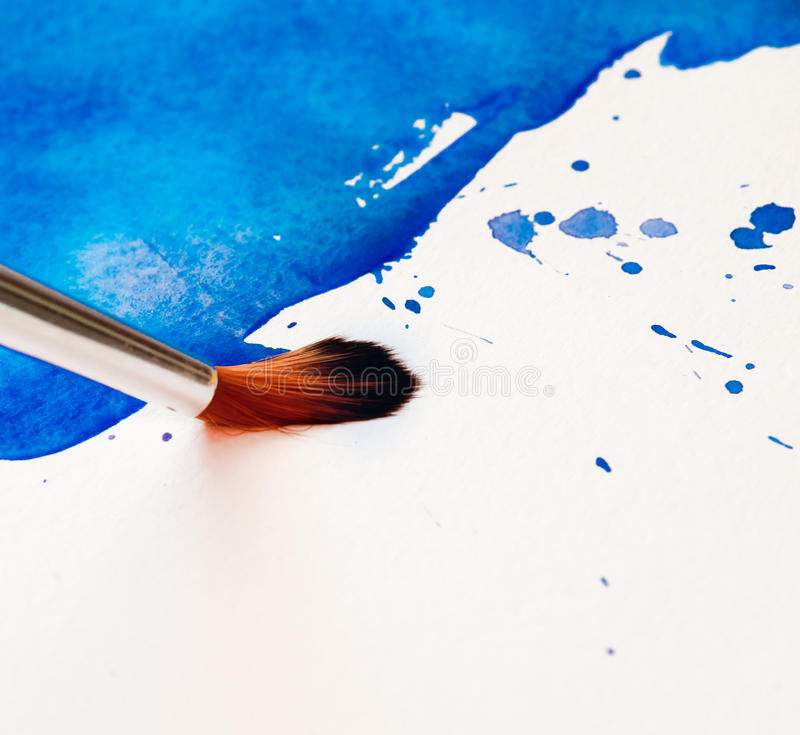 Download Brush With Colorful Background Stock Illustration - Image: 24883671