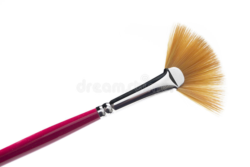 brush cosmeticen fotografering för bildbyråer