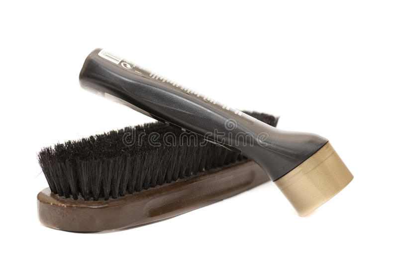 Download Brush and cream black stock photo. Image of tool, isolated - 25563808