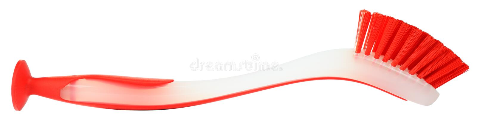 Download Brush For Dishware On White Stock Image - Image of tool, color: 13005583