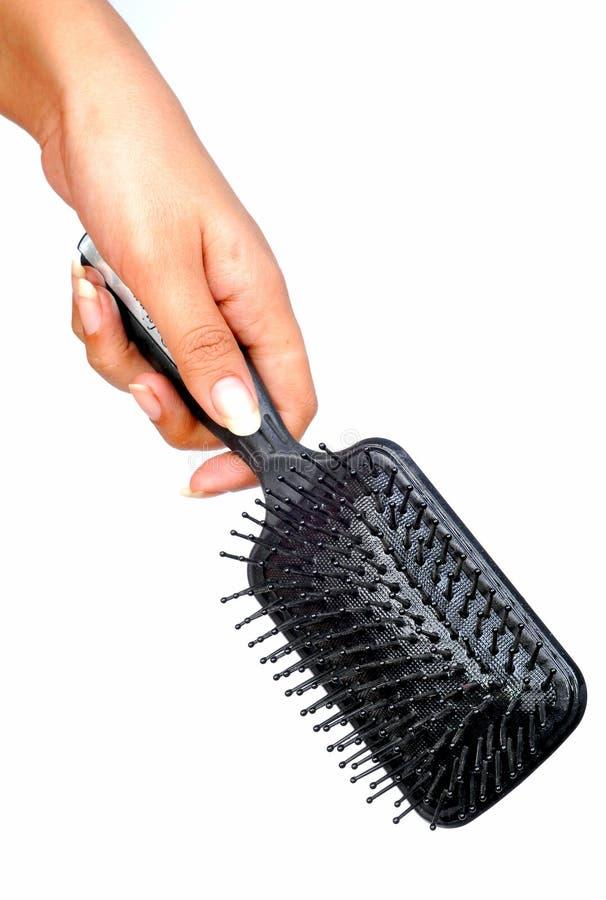 brush hår fotografering för bildbyråer