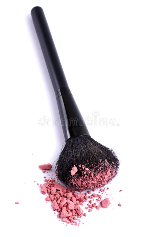 Free Brush Make-up Royalty Free Stock Image - 14620576