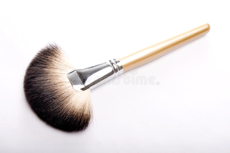 Brush for makeup royalty free stock images