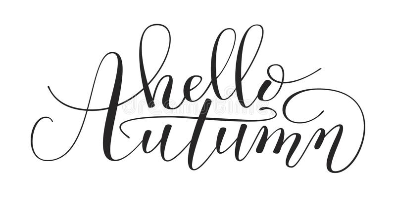 Hand Lettering vector illustration