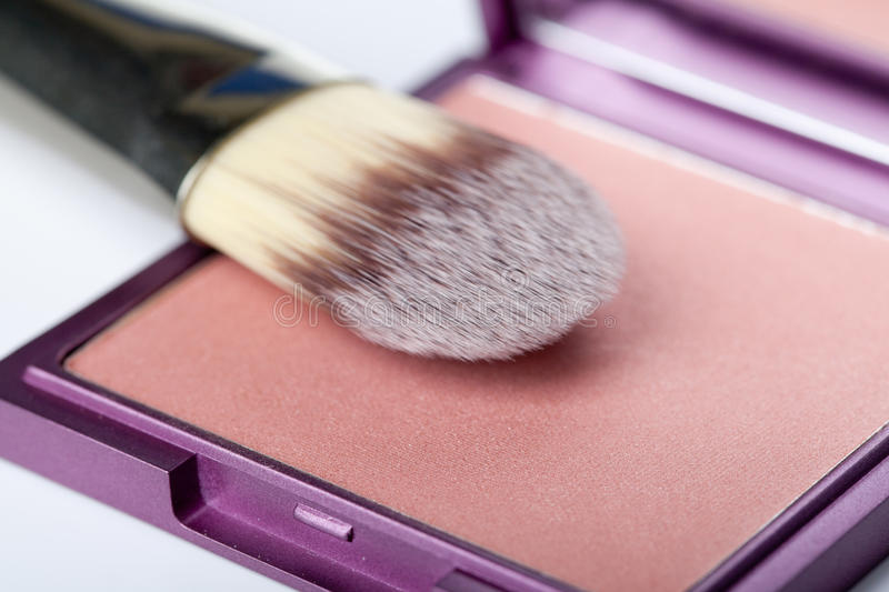 Download Brush and powder stock photo. Image of up, nobody, cosmetic - 26862410