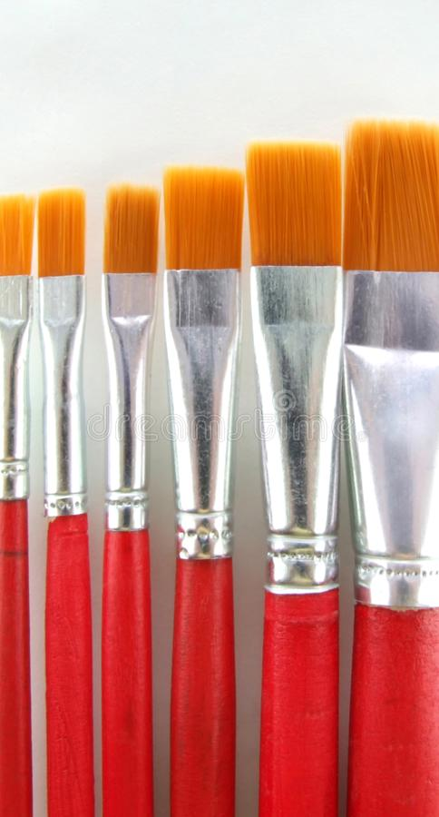 Brush set 2 royalty free stock photography