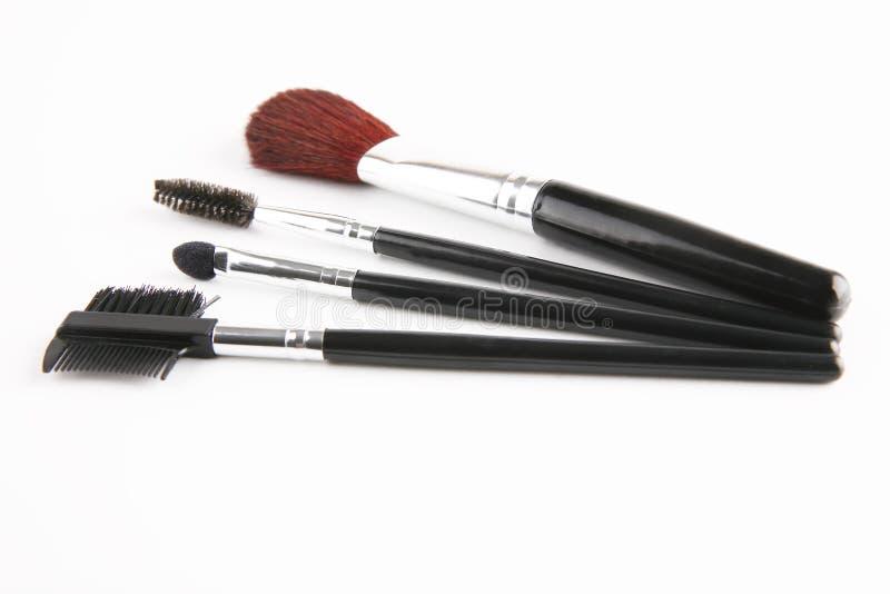 Brush Set For Make Up Stock Photo