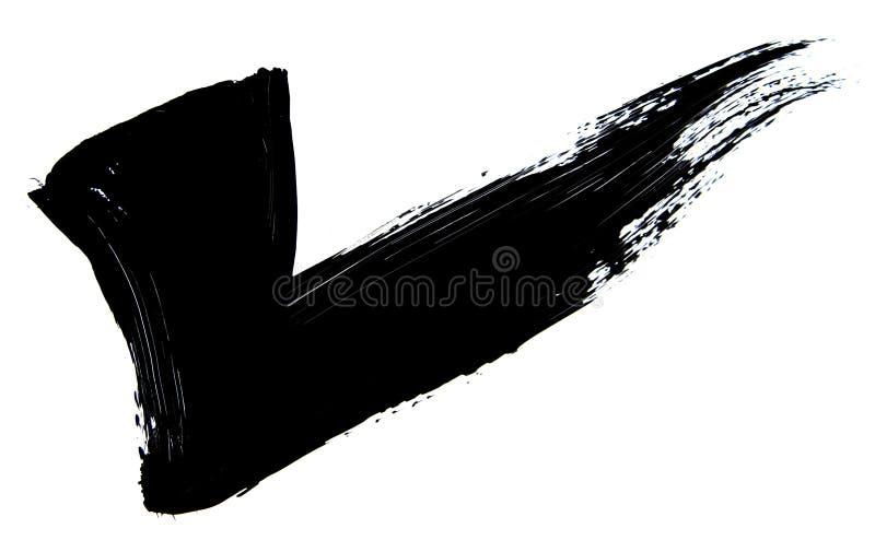 Brush stroke stock illustration