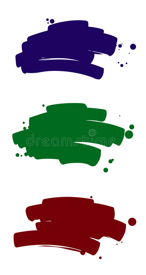 Download Brush strokes 2 stock vector. Illustration of paintings - 1561938