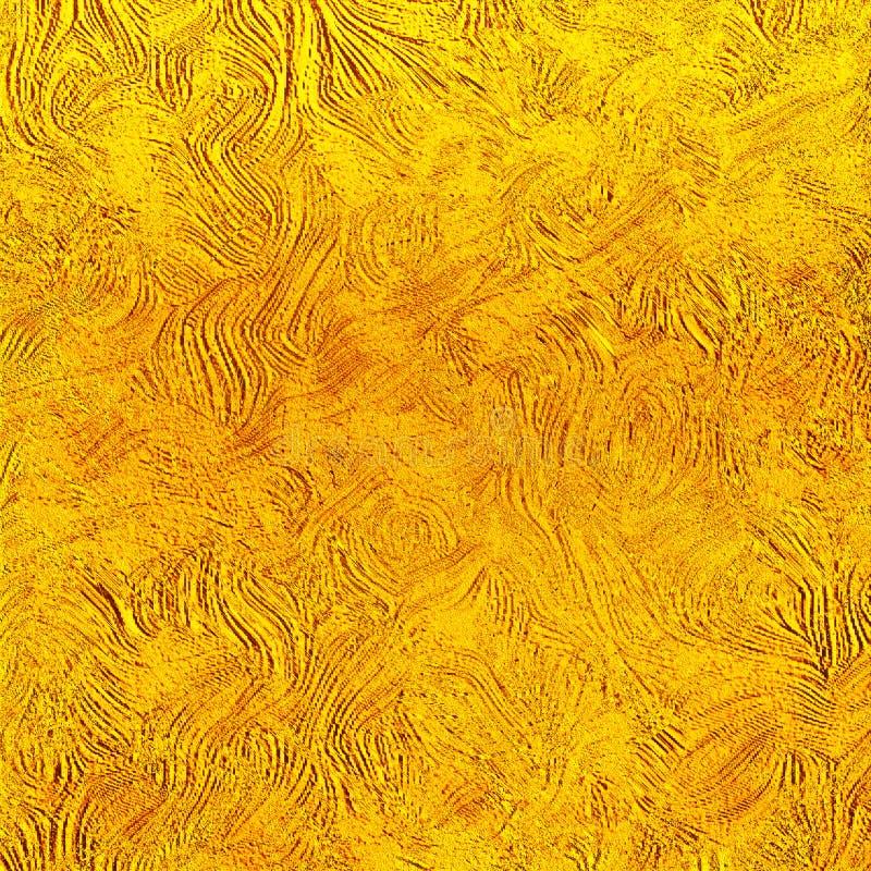 Brush strokes Artwork. Grungy vibrant background. Canvas print artwork. stock illustration