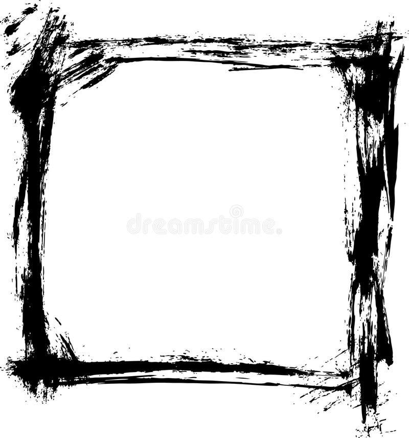 brush strokes border vector stock vector illustration of awful rh dreamstime com border vector cdr border vector design