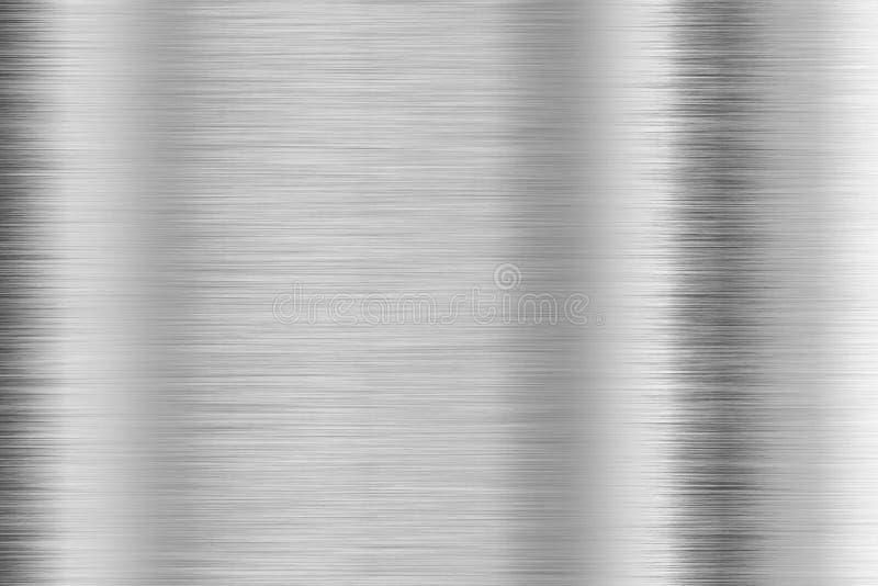 Brushed aluminum royalty free illustration