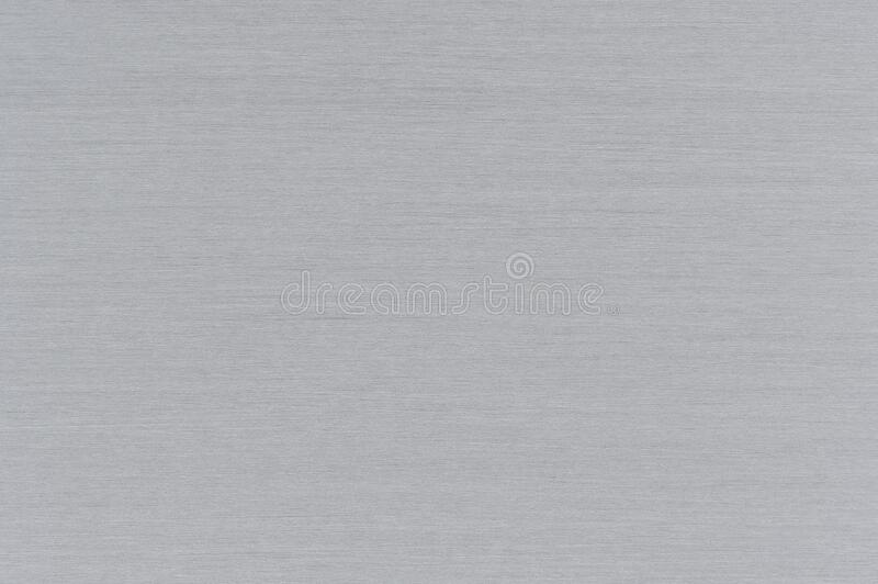 Brushed Aluminum Metal Texture. As background stock photos
