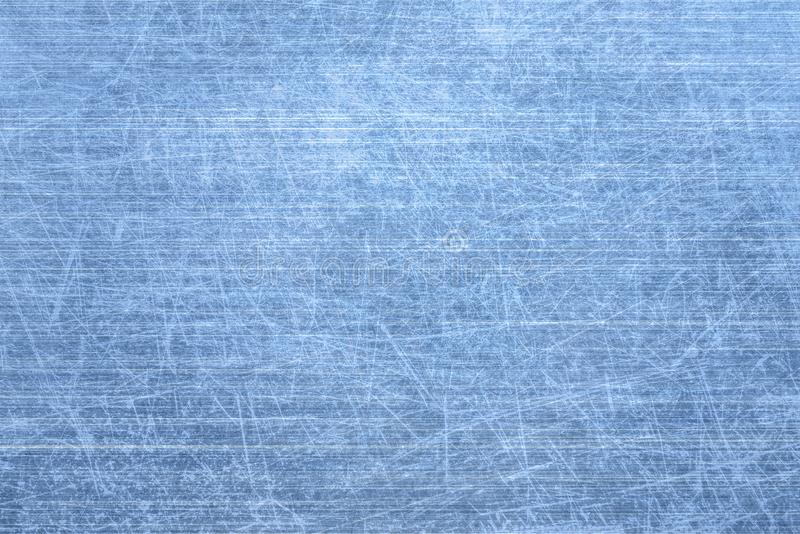 Brushed blue metal texture. vector illustration