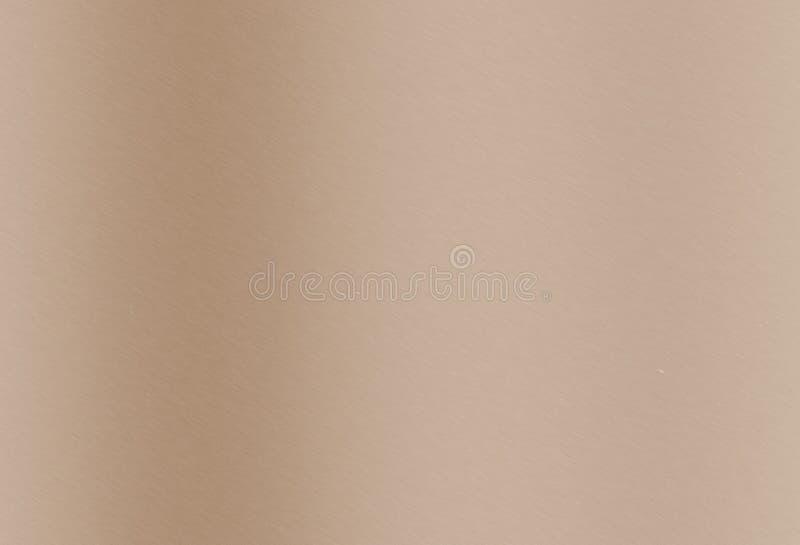 Brushed Brown Metallic Background Stock Photos