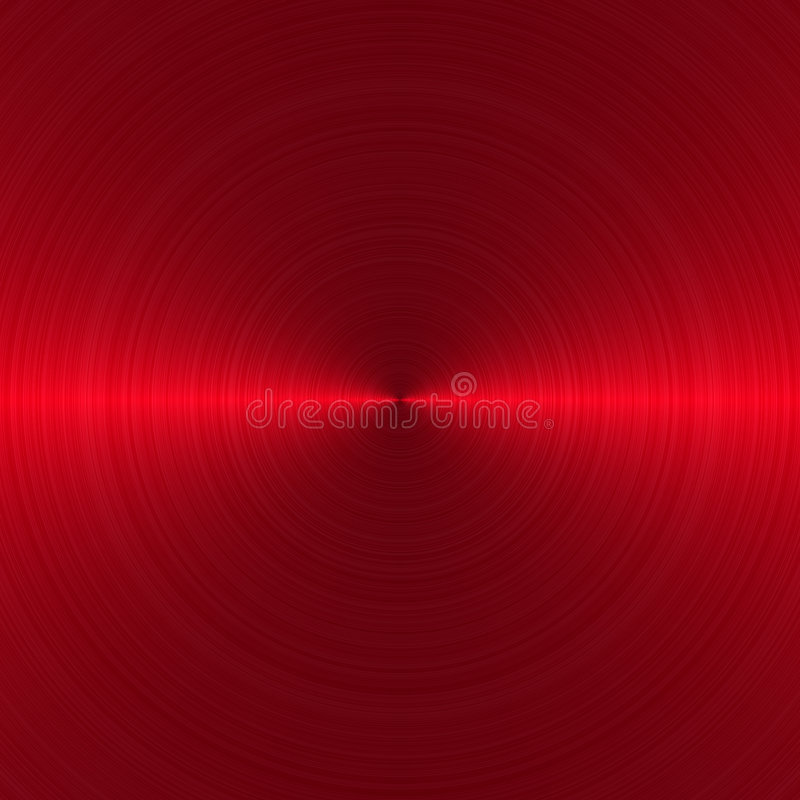 Brushed circular red 1 vector illustration