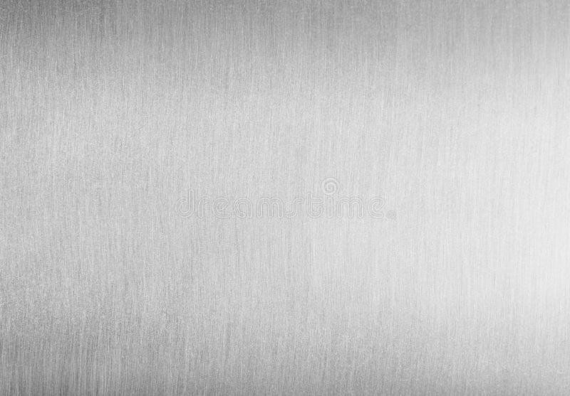 Brushed clean metal background royalty free stock photography