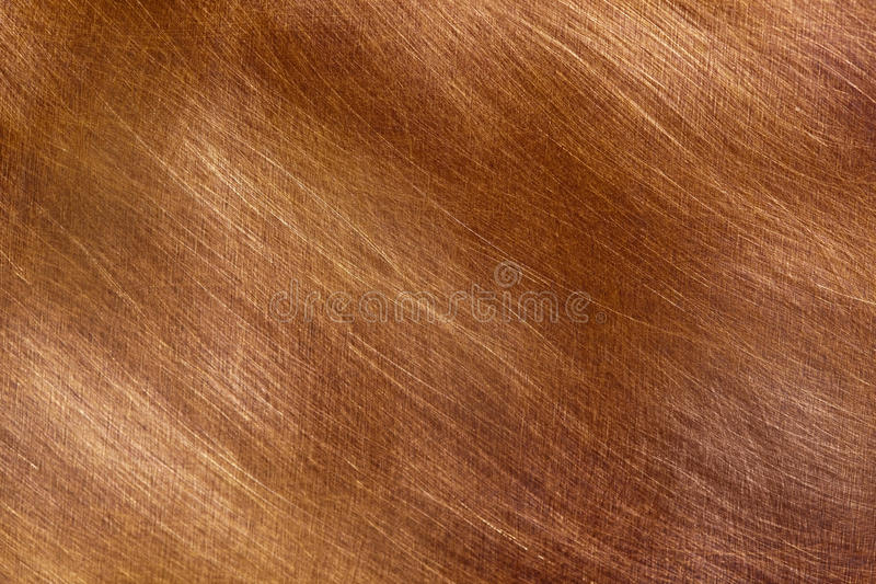 Download Brushed Cppper stock photo. Image of metal, copper, brown - 14827968