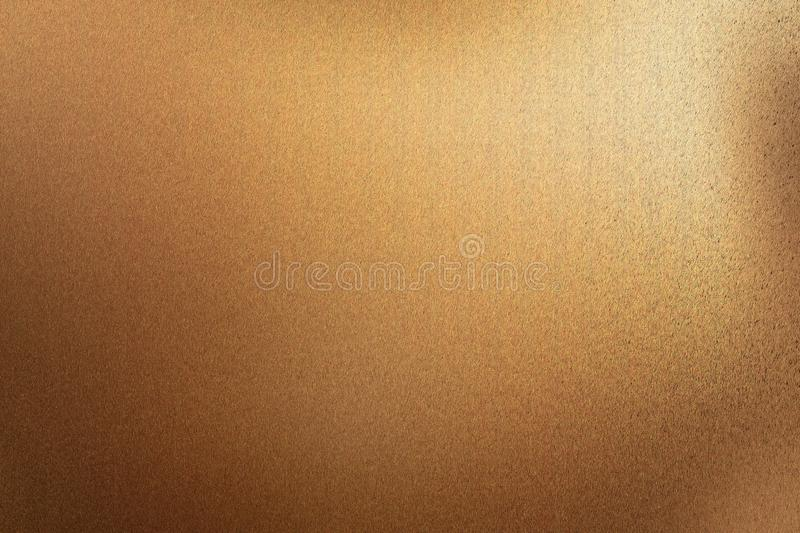 Brushed dark brown metal wall with scratched surface, abstract texture background stock images