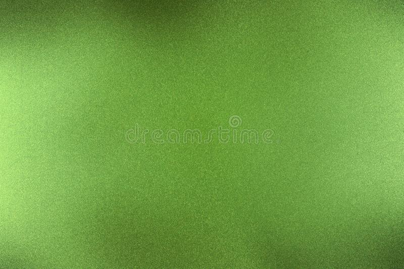 Brushed dark green metallic wall, abstract texture background royalty free illustration