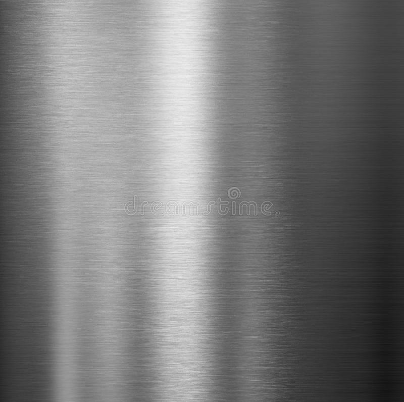 Brushed high quality metal texture royalty free illustration