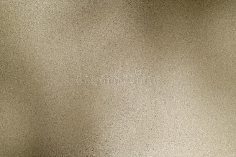 Brushed light brown metallic wall, abstract texture background royalty free illustration