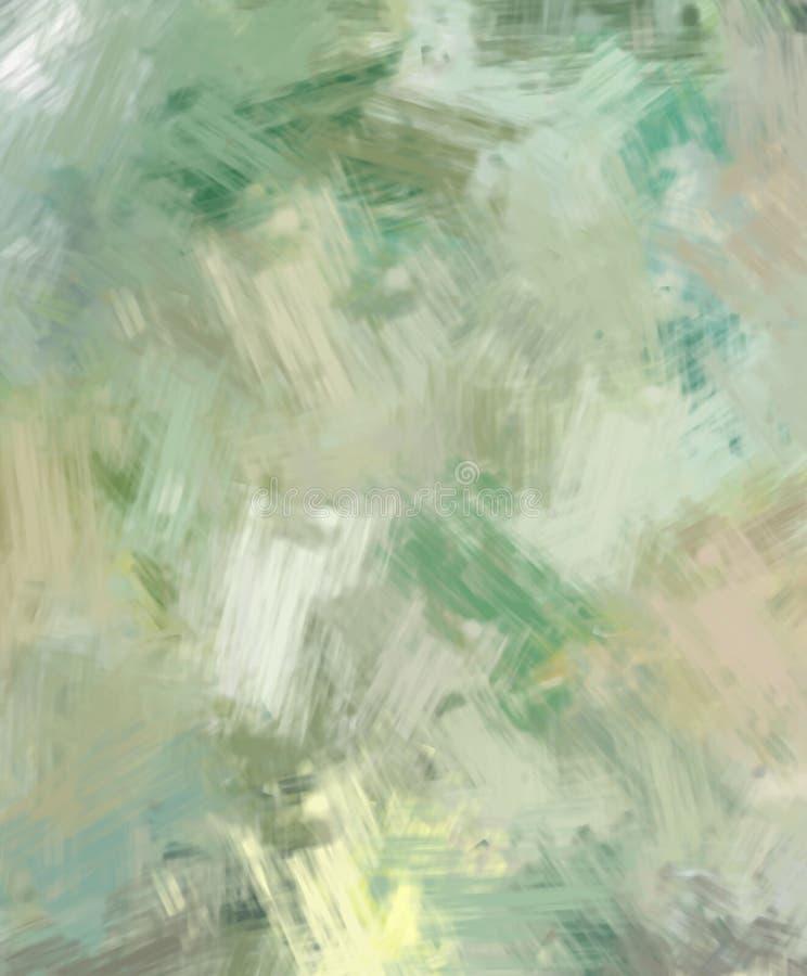 Brushed malte abstrakten Hintergrund B?rste gestrichene Malerei Anschl?ge der Farbe Abstrakte Abbildung stockbild
