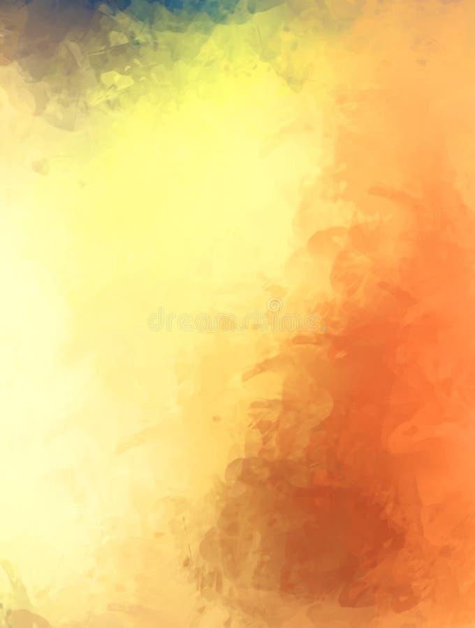 Brushed malte abstrakten Hintergrund B?rste gestrichene Malerei Anschl?ge der Farbe Abstrakte Abbildung stockfotografie