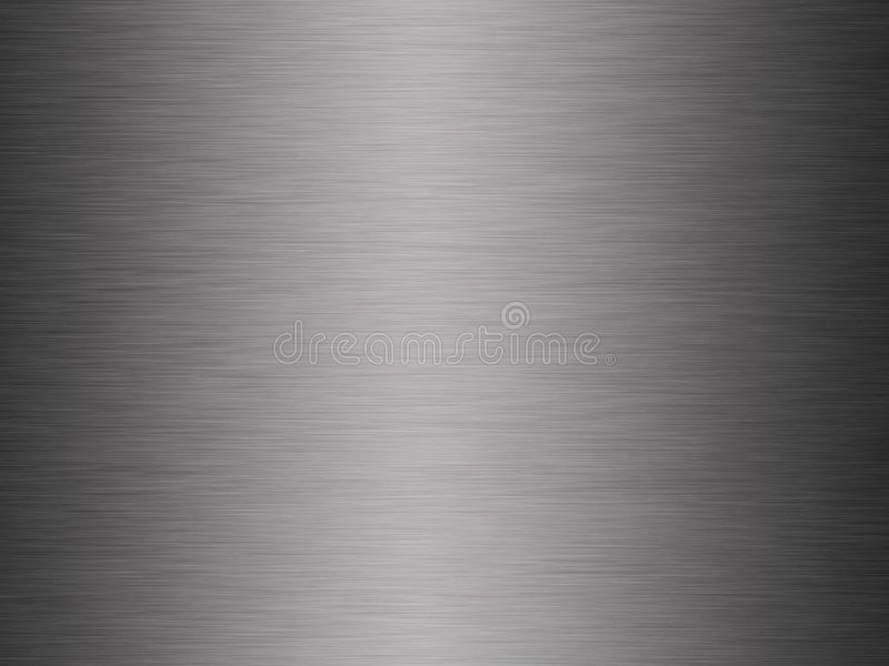 Brushed metal. Sheet of brushed steel or metal background royalty free stock photography