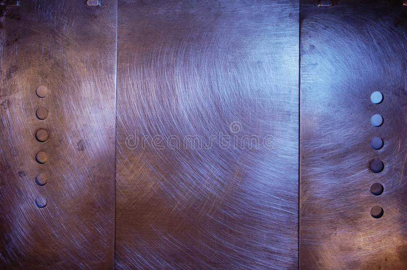 Download Brushed  Metal  Design With Holes Stock Photo - Image: 22900222