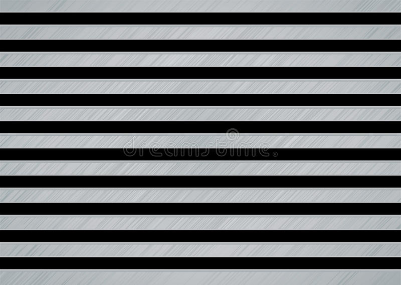 Download Brushed metal slat stock vector. Image of polished, stainless - 11761300