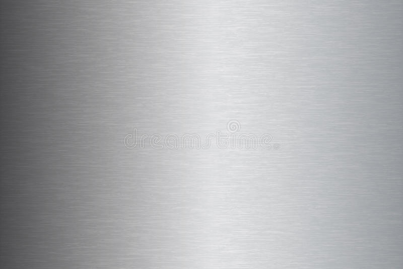 Brushed metal stainless steel texture vector illustration. Brushed metal stainless steel plate texture vector illustration stock illustration