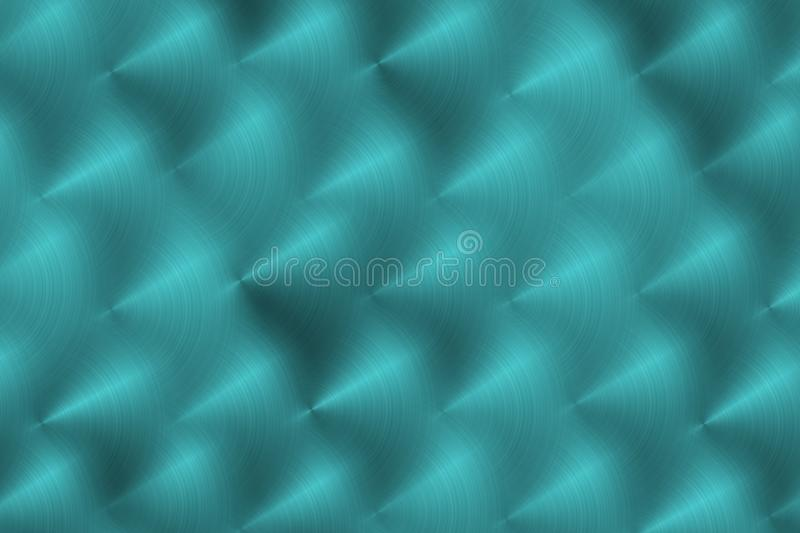 Brushed metal surface. Texture of metal. Abstract background. Illustration royalty free illustration
