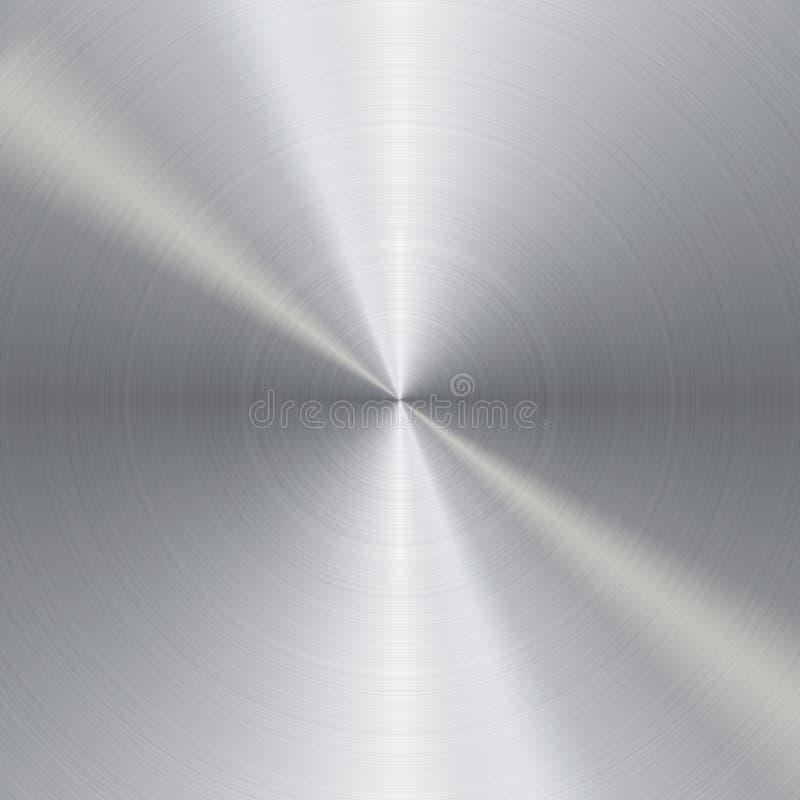 Download Brushed metal textue stock illustration. Image of grip - 21727598