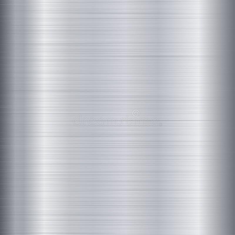 Brushed Metal Texture royalty free illustration