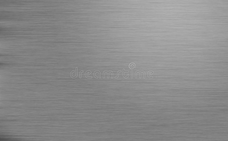 Brushed metal texture. Metal texture background with with light effect. Gray background