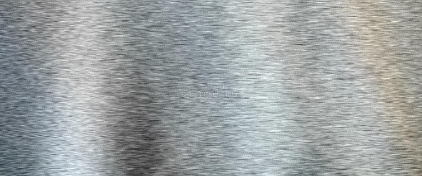 Brushed Metal texture background royalty free stock photos