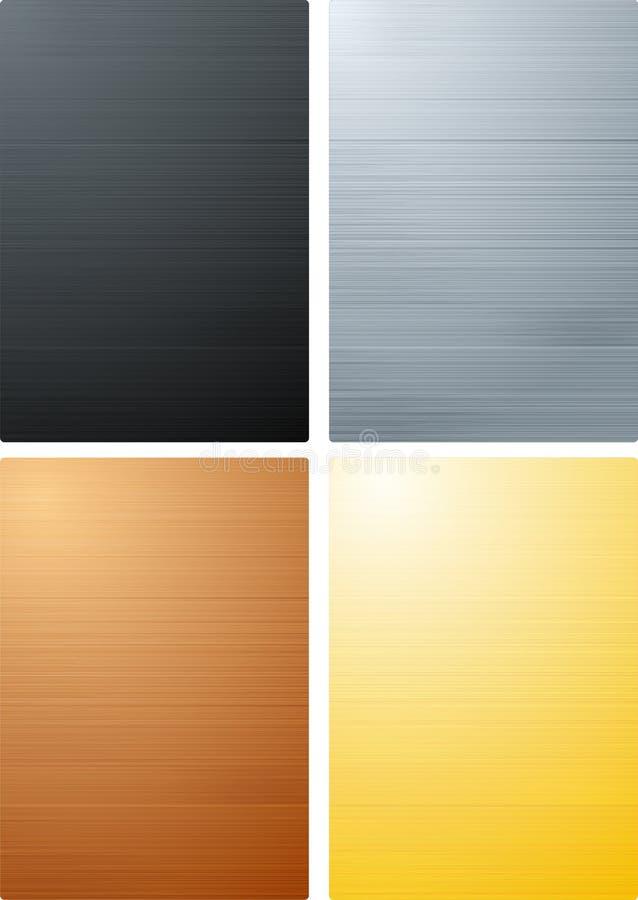 Brushed Metal Textures Stock Photos