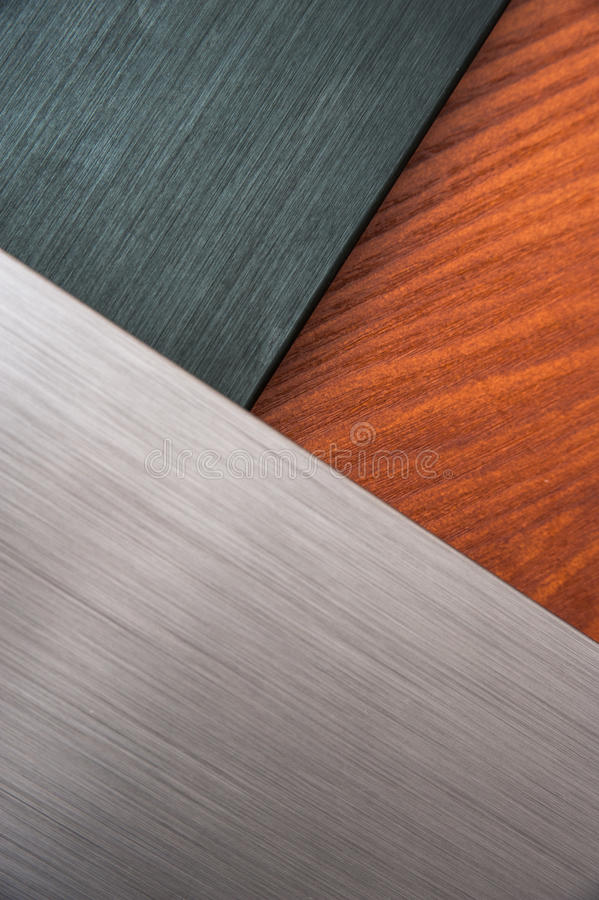 Download Brushed Metal And Wood Texture Stock Image - Image: 33489985