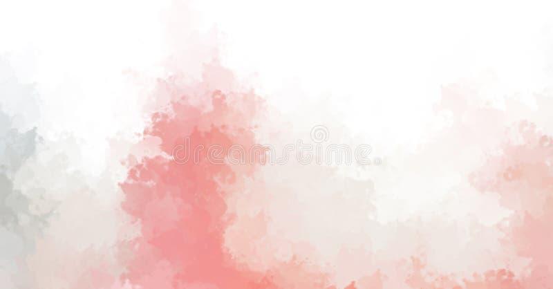 Brushed pintó el fondo abstracto Cepillo frotado ligeramente Papel pintado abstracto Pintura imagen de archivo libre de regalías