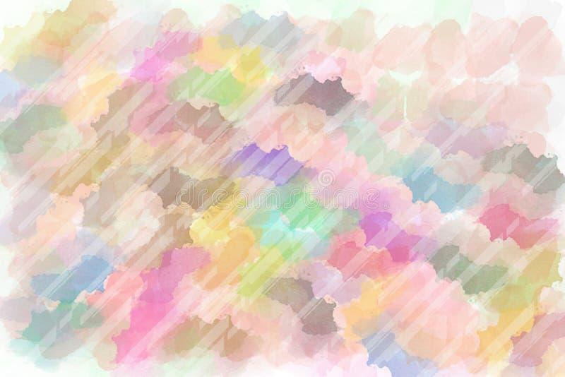 Brushed pint? el fondo abstracto Pintura frotada ligeramente cepillo fotografía de archivo libre de regalías