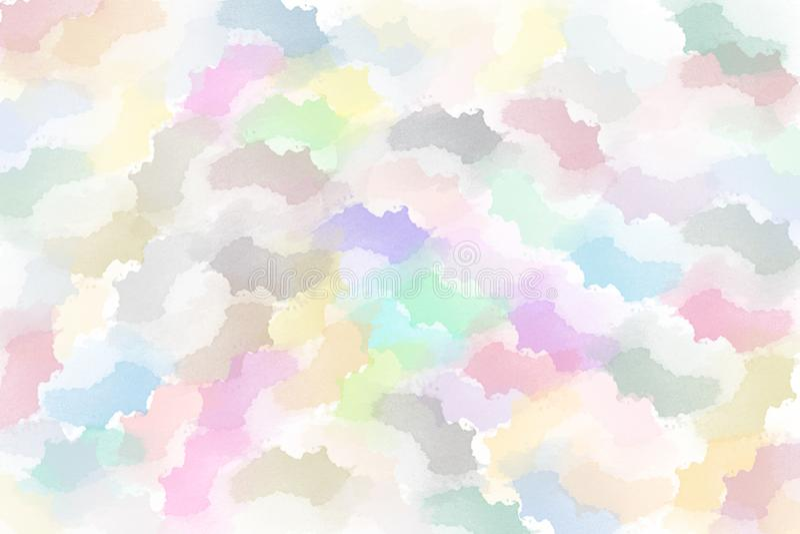 Brushed pint? el fondo abstracto Pintura frotada ligeramente cepillo fotos de archivo libres de regalías