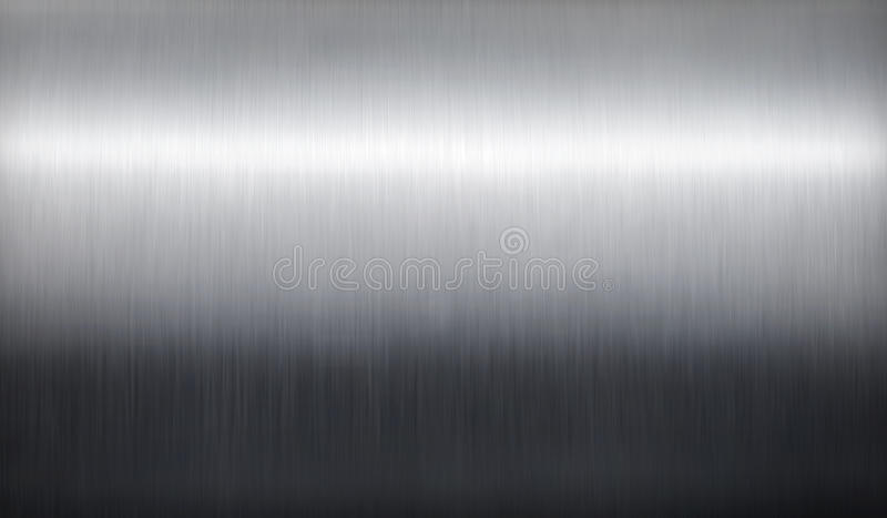 Download Brushed silver metal. stock photo. Image of iron, copyspace - 15002546