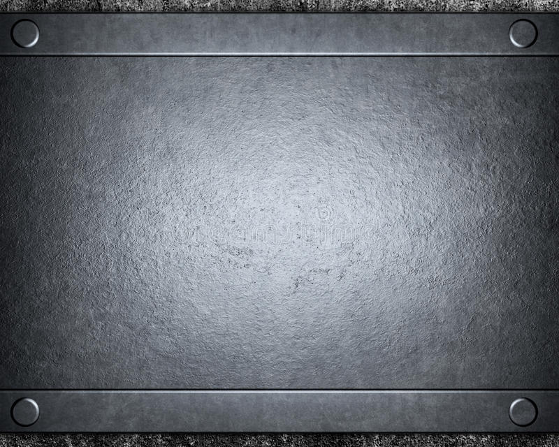 Brushed silver metal background stock photography