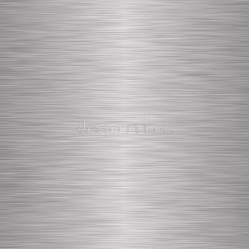Brushed silver metallic background royalty free stock photography